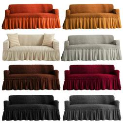 1 2 3 4 Seat Cotton Linen Slipcover Sofa Couch Cover Protect