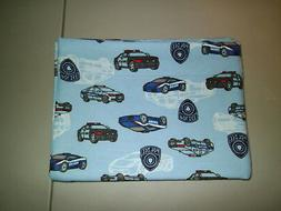 1-Police Cars with Police Badge Standard Size Pillowcase Sof