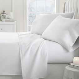 100% Cotton Flannel Pillowcases Heavy Super Soft Pair of Sta