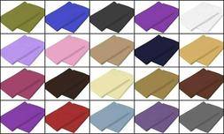 100% Egyptian Cotton Set of 2 Pillow Cases 400 Tc Queen/King