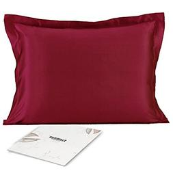 100% Mulberry Silk Pillowcase for Hair and Skin Health with