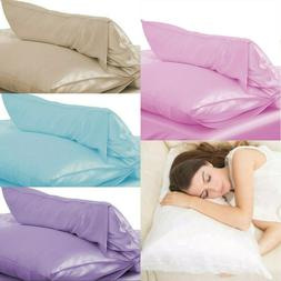 100% Pure Silk Pillowcase Soft Pillow Case Cover Colorful Ho