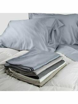 100% Sateen Bamboo Sheets Set--Pillow cases, Top Sheet, and