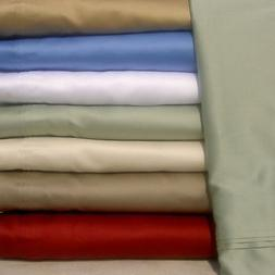 12 INCH POCKET DEEP FITTED SHEET+PILLOW CASE 1000 TC EGYPTIA