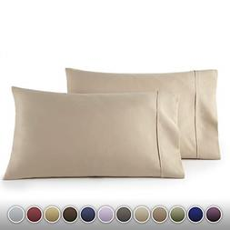 1500 Thread Count Egyptian Quality 2pc Set of Pillow Cases S