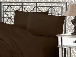 Elegant Comfort 1500 Thread Count Wrinkle & Fade Resistant E