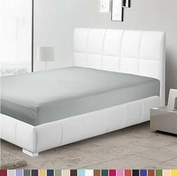 1800 Count Fitted Sheet Fits Deep Pocket Mattresses Full Ela
