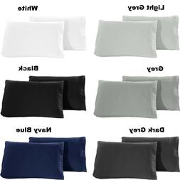 1800 Pillowcase Set - Queen / King Size - Set of 2 pieces Pi