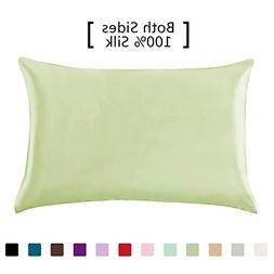 YANIBEST 19 Momme 100% Pure Natural Mulberry Silk Pillowcase