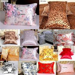1pc 16mm 100% Mulberry Silk Floral Printed Pillow Case Cover