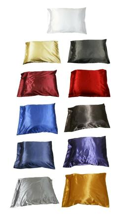 1pc new queen standard silk y satin