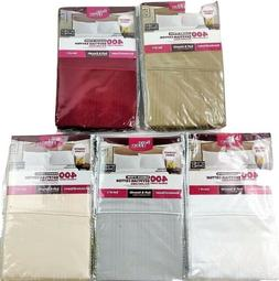2 Pack NWT Better Homes Gardens 400 Egyptian Cotton Damask S