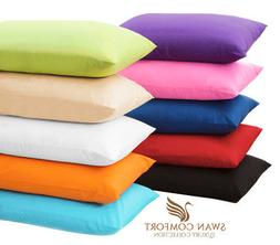 2 PC LUXURY PILLOW CASE SET STANDARD 20x30 KING 20x40 COVER