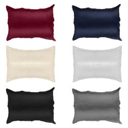 2pc Brand New King Size Silk~y Satin Pillow Case/Cases Multi