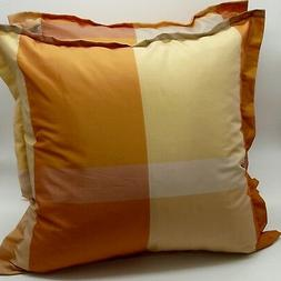 "2pcs 20x20"" 50x50cm throw pillow cover cushion case orange g"