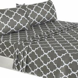 Utopia Bedding 3Pc Bed Sheet Set 1 Flat Sheet, 1 Fitted Shee