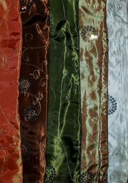 Boho Moroccan Decor Pillow Cases Beaded Square Satin Covers