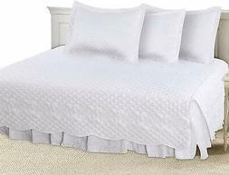 Utopia Bedding 5 Pieces Daybed Set, 1 Bed Skirt, 3 Pillowcas