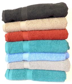 """6-Pack: 30"""" x 54"""" 100% Cotton Extra-Absorbent Bath Towels"""