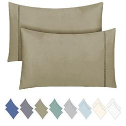 California Design Den 600 Thread Count Pillowcase Set of 2,