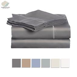 California Cotton Club 600 Thread Count Best Bed Sheets Set