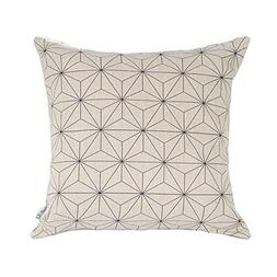Elviros Linen Cotton Blend Decorative Scandinavian Modern Ge