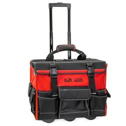 INCREDIBLE XtremepowerUS Tool Bag Organizer, Black and Red