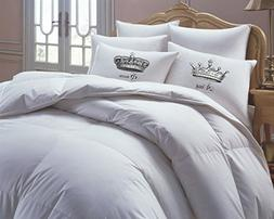 King and Queen Pillowcases, Couples Gift, His Hers Pillowcas