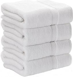 Luxury White Bath Towels for Bathroom-Hotel-Spa-Kitchen-Set