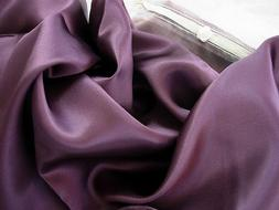 Set of Two Plum Luxury 100% Silk Pillowcase Hair & Facial Be