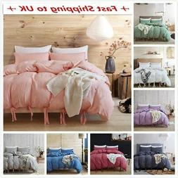 All Size Duvet Cover With Pillow Case Quilt Cover Bedding Se
