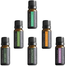 Aromatherapy Top 8 100% Pure Therapeutic Grade Basic Sampler