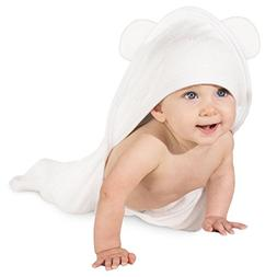 Bamboo Hooded Baby Towel: Ultra Soft Hypoallergenic Infant B