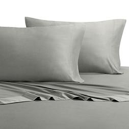 100% Bamboo Pillowcases - Set of 2 Standard/Queen, Solid Whi
