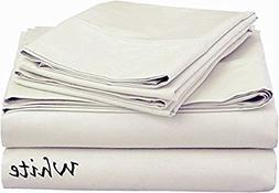 Bed Sheet Set  - Deep Pocket  Egyptian Cotton, Extra Soft Co