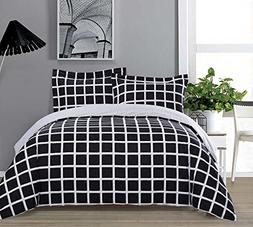 Top Finel Bedding Queen Size Duvet Cover Set Hotel Quality S