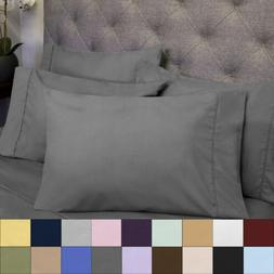 6 Piece Bedroom Bed Sheet Set 1500 Thread Count Egyptian Com