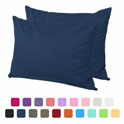 Bedroom Zippered Pillow Cases Pillowcases Standard Egyptian