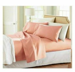 Better Homes 300 Thread count Coral sheet set W/ Pillow case
