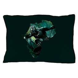 CafePress Black Panther Africa - Standard Size Pillow Case,