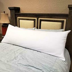 American Pillowcase Body Pillow Cover 20x54, 100% Brushed Mi