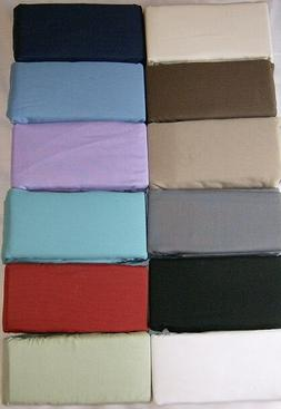 "BODY PILLOW PILLOWCASES 12 COLORS for the 20 X 54 ""  PILLOW"
