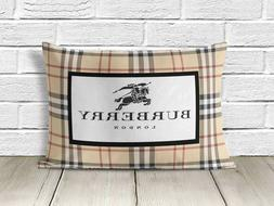 burberry99 Logo zippered pillow case two side picture size 1