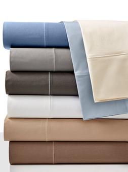 Hotel Collection CAL-KING FITTED SHEET Solid 525 TC Pool Blu