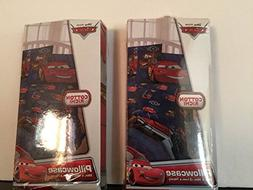 Disney Cars 2 Pack Standard Pillowcase