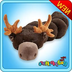 "Pillow Pets BodyPillars Chocolate Moose - 30"" Cozy Stuffed A"