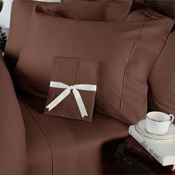 Chocolate Solid All Bedding Sets Item Choose Size & Item 100