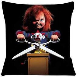 CHUCKY CHILDS PLAY 2 SOFT CUSHION PILLOW CASE NEW
