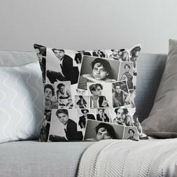 Cole Sprouse Collage Pillow Case, TV Movie Cushion Cover, TV