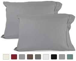 American Pillowcase 100% Cotton, High Thread Count, Luxury S